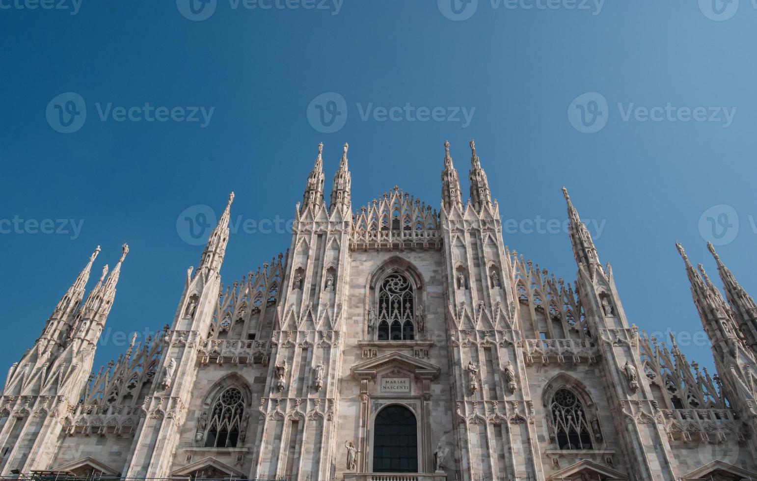 la cattedrale di milano foto