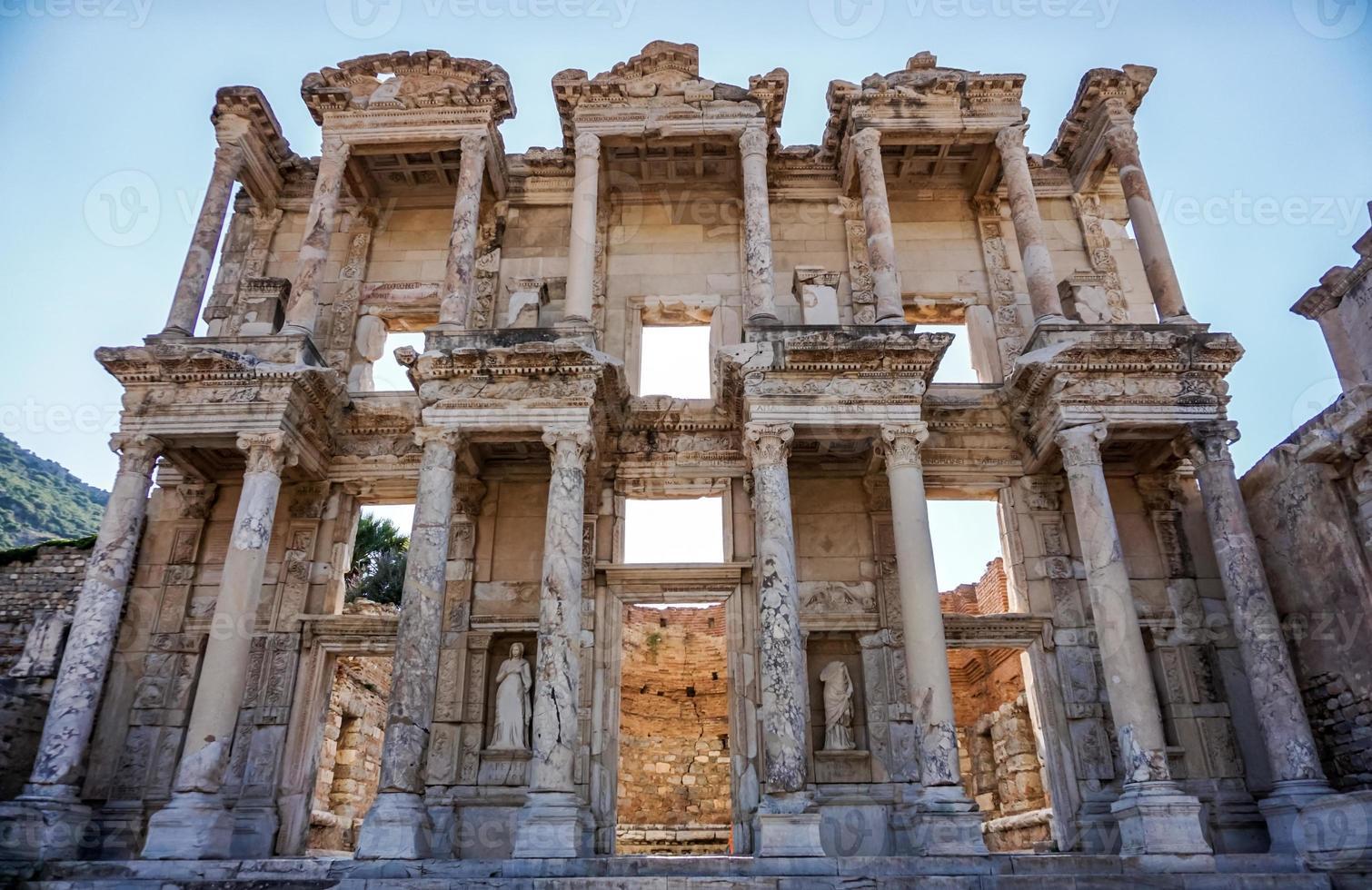 biblioteca di Celso, Efeso, Turchia foto
