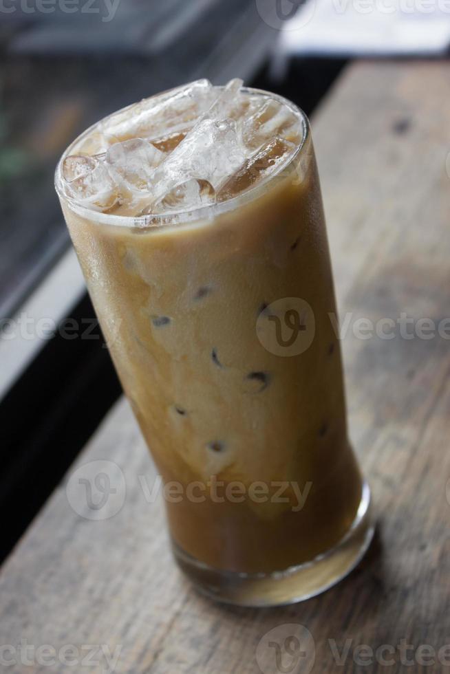 caffè ghiacciato. foto