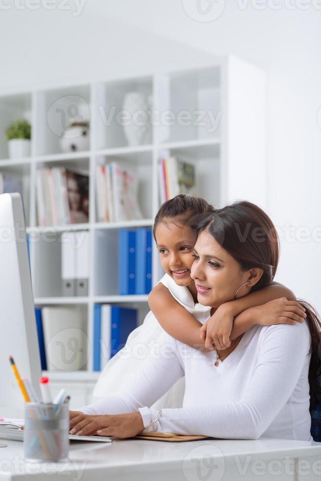 madre di affari foto