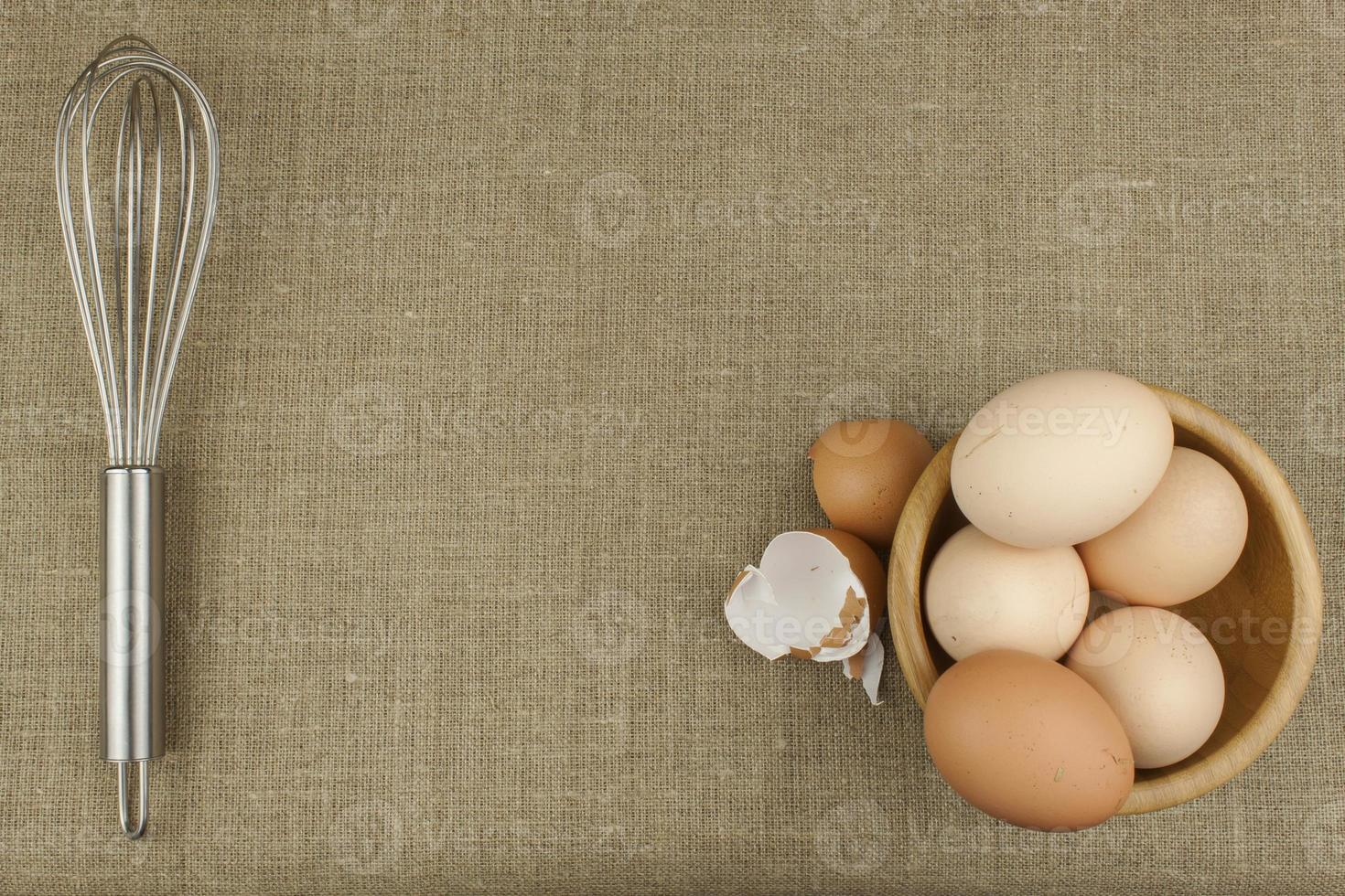 uova di gallina fatte in casa. foto