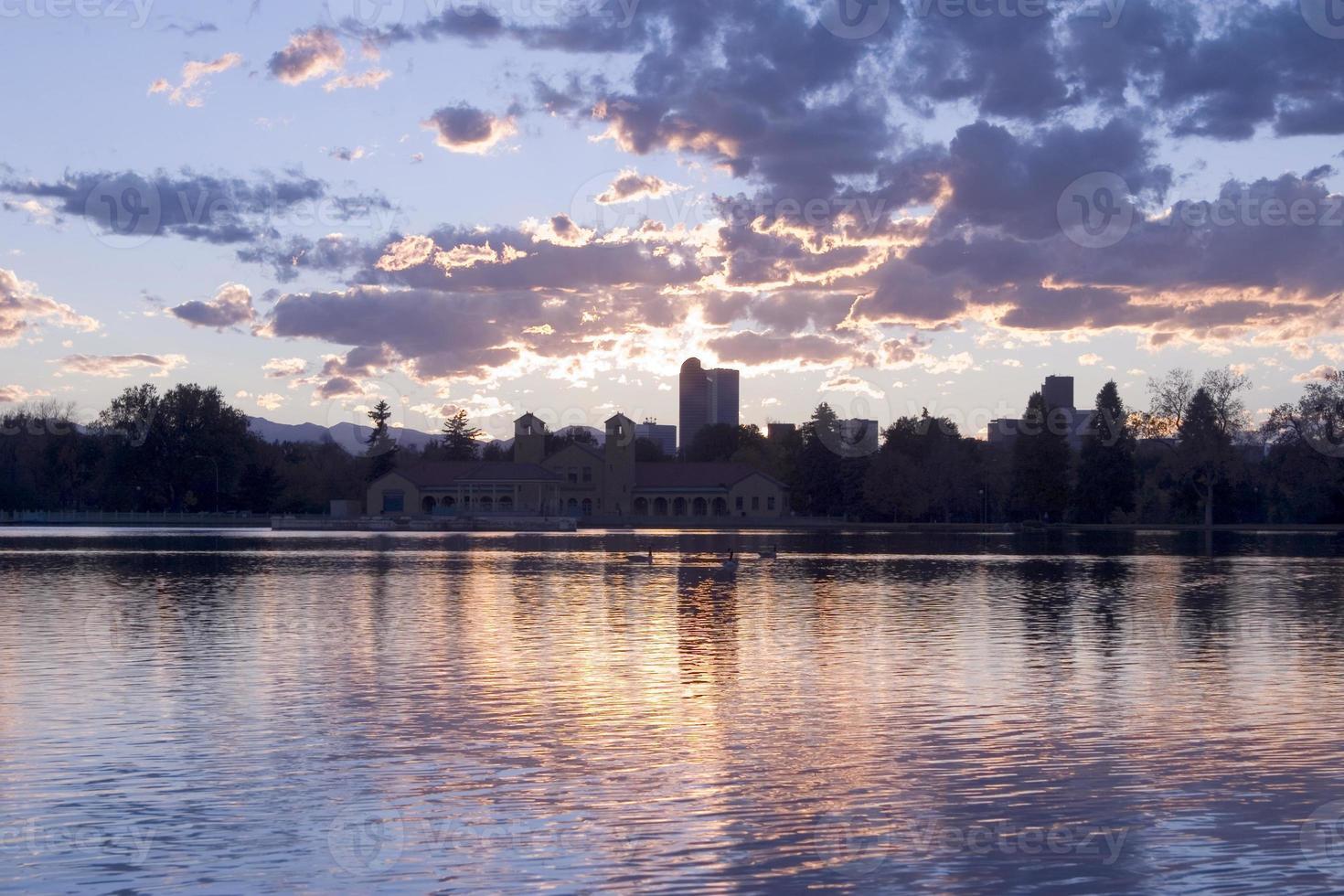 tramonto di denver foto