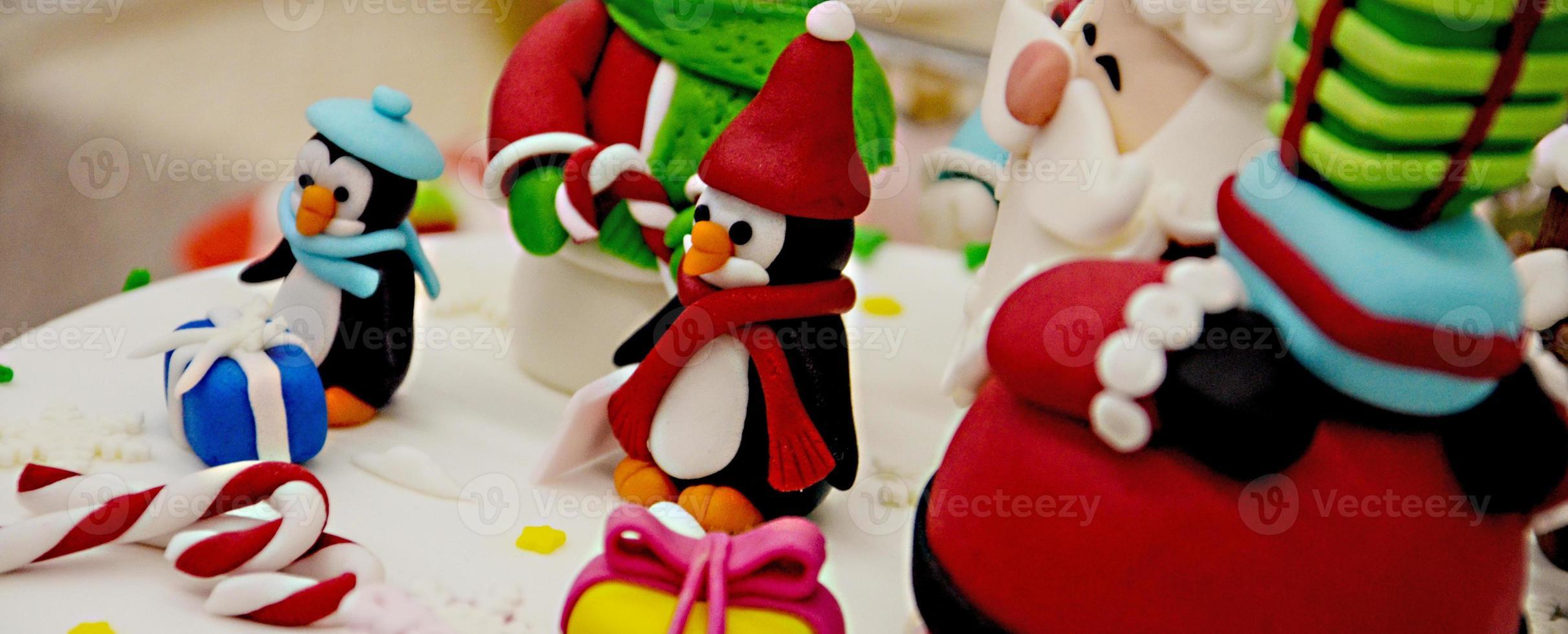 Torta di Natale e Capodanno foto