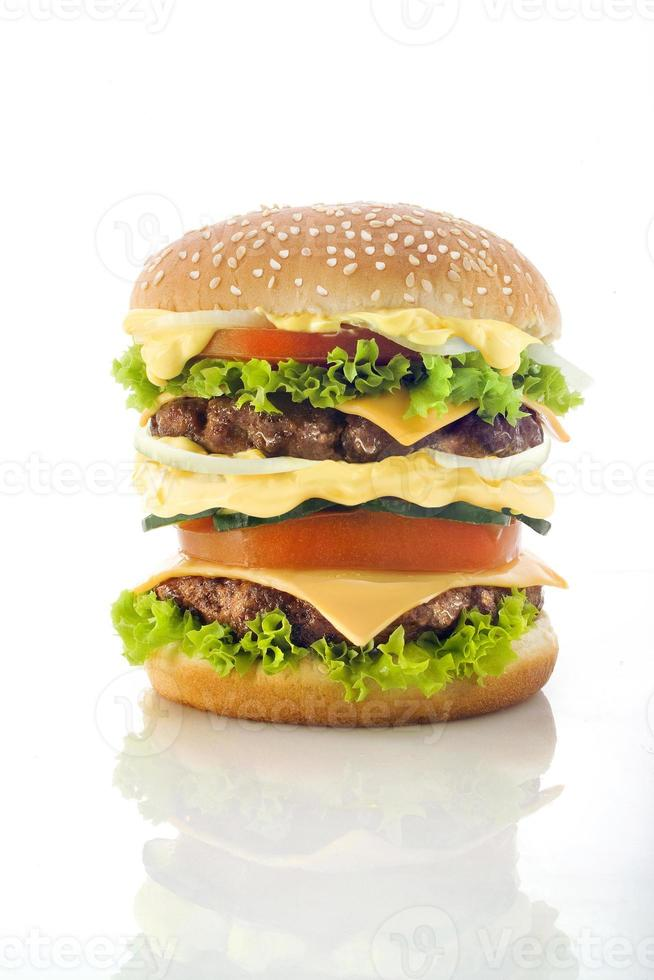 hamburger gustoso foto