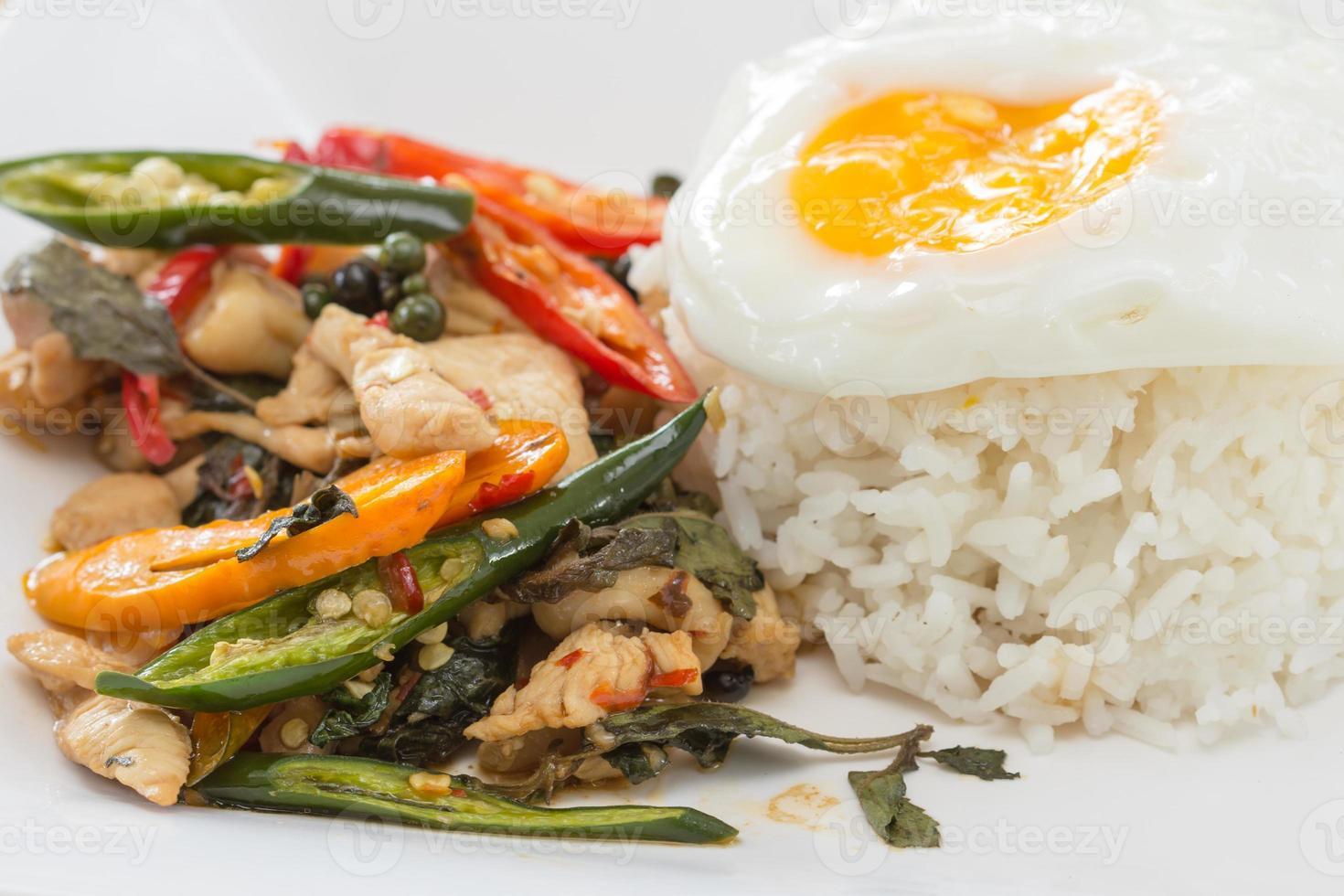 alimento della Tailandia foto