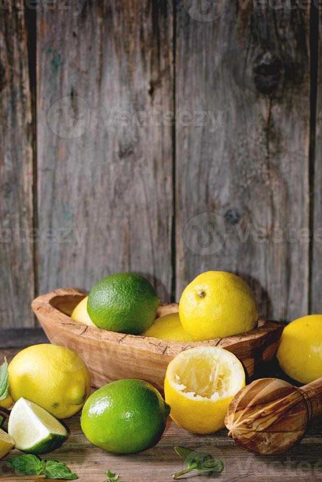 limoni e lime foto
