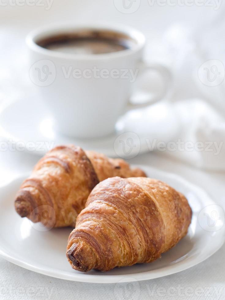 cornetto al caffè foto