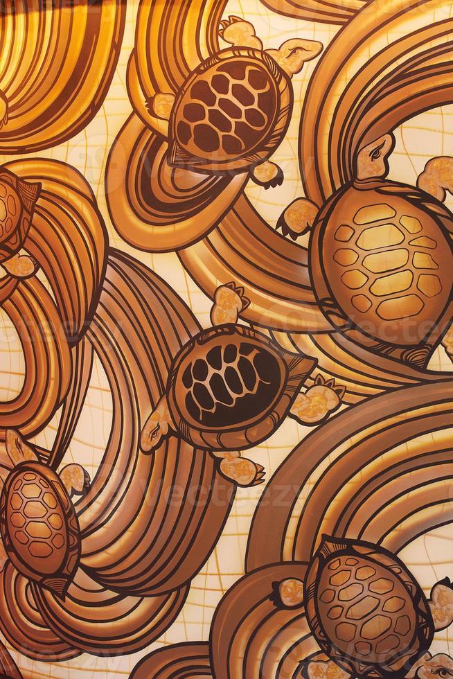 illustrazione di tartarughe foto