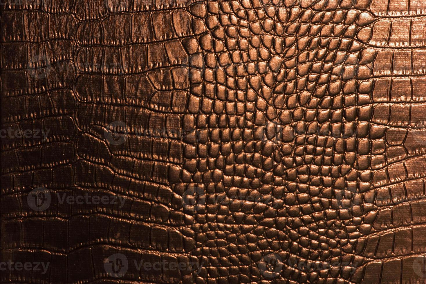 trama in pelle di coccodrillo foto