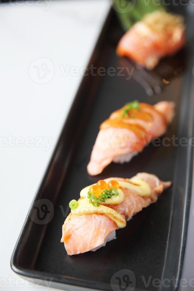 sushi di salmone foto