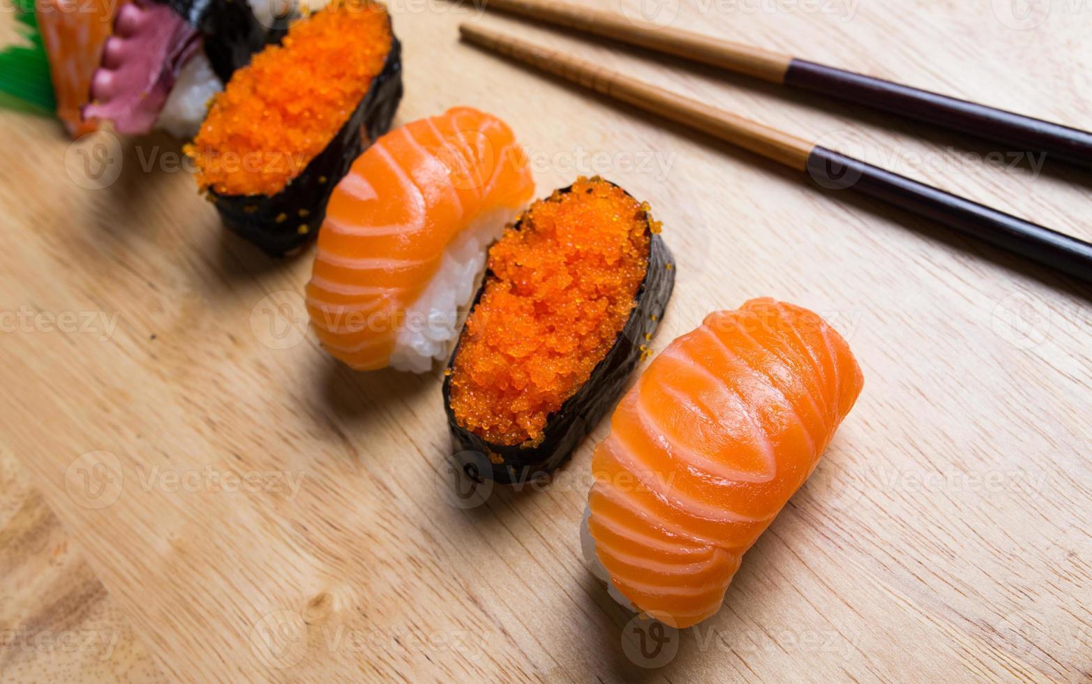 sushi giapponese foto