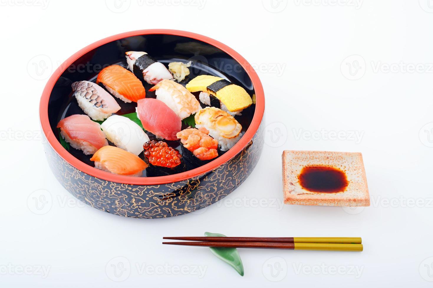 set di sushi foto