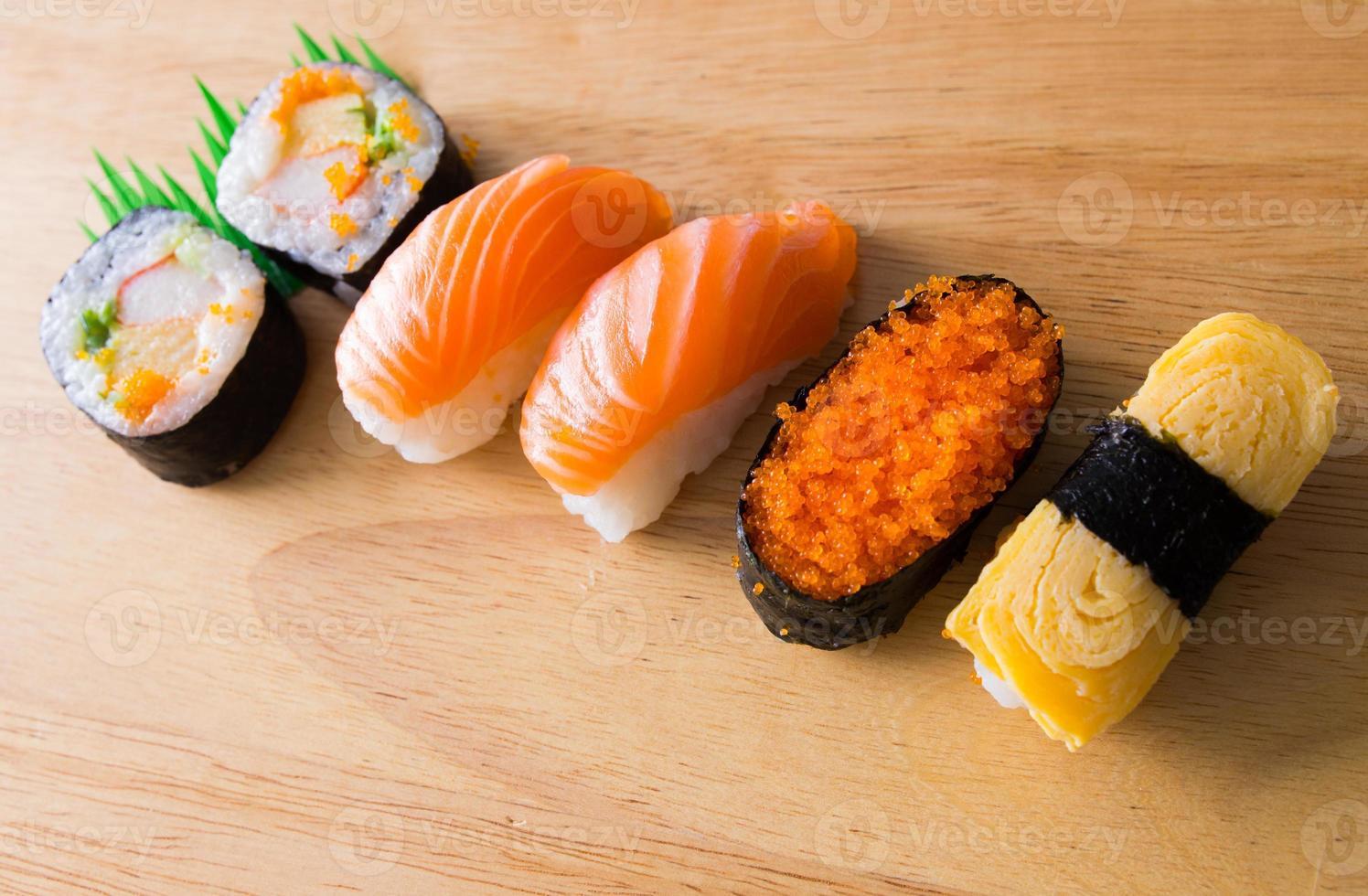sushi e maki foto