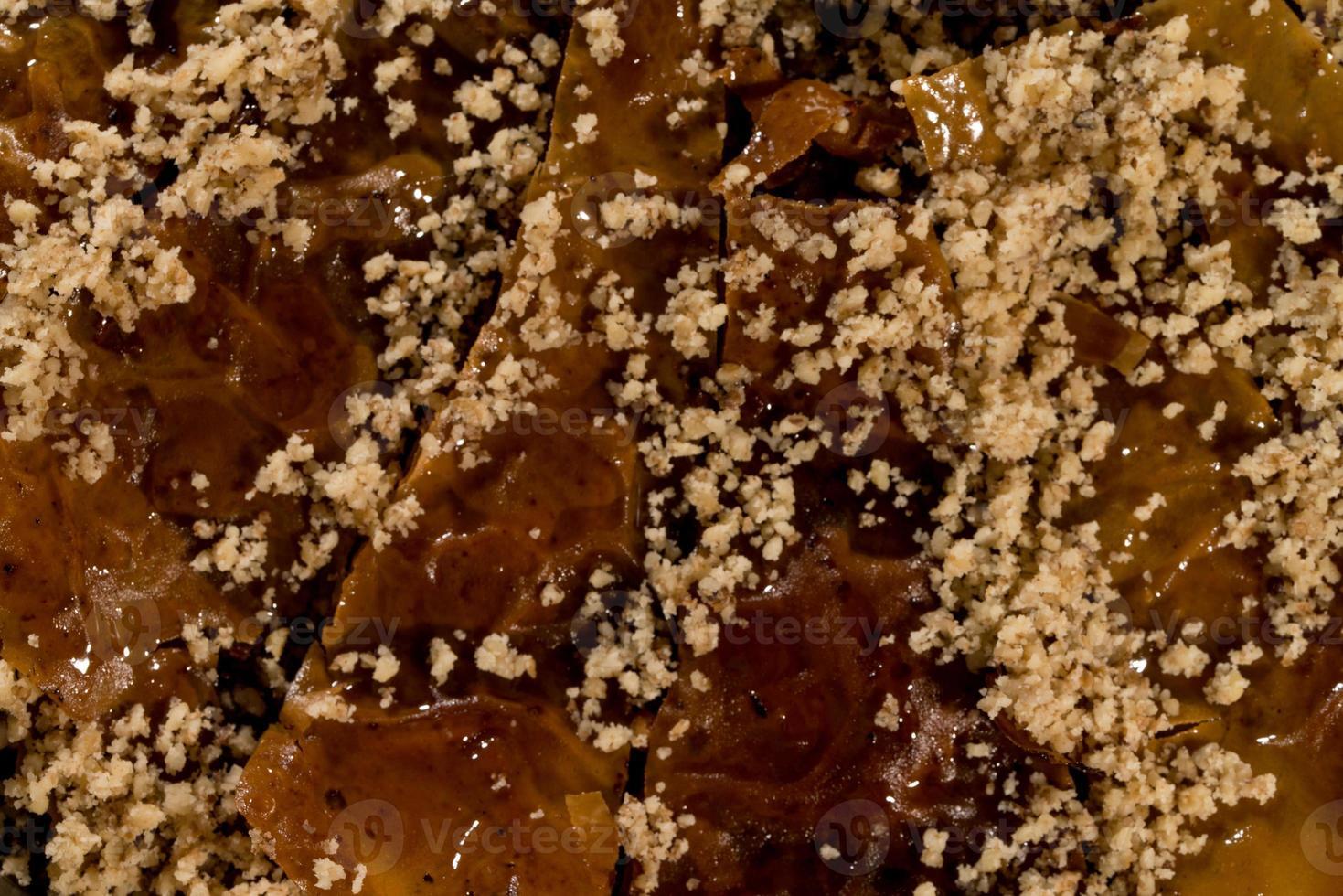 Dolce greco baklava dolce da vicino foto