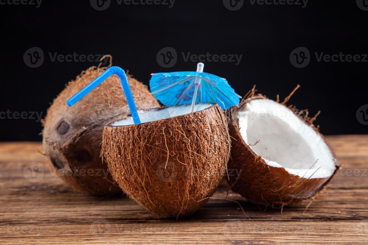 latte di cocco foto