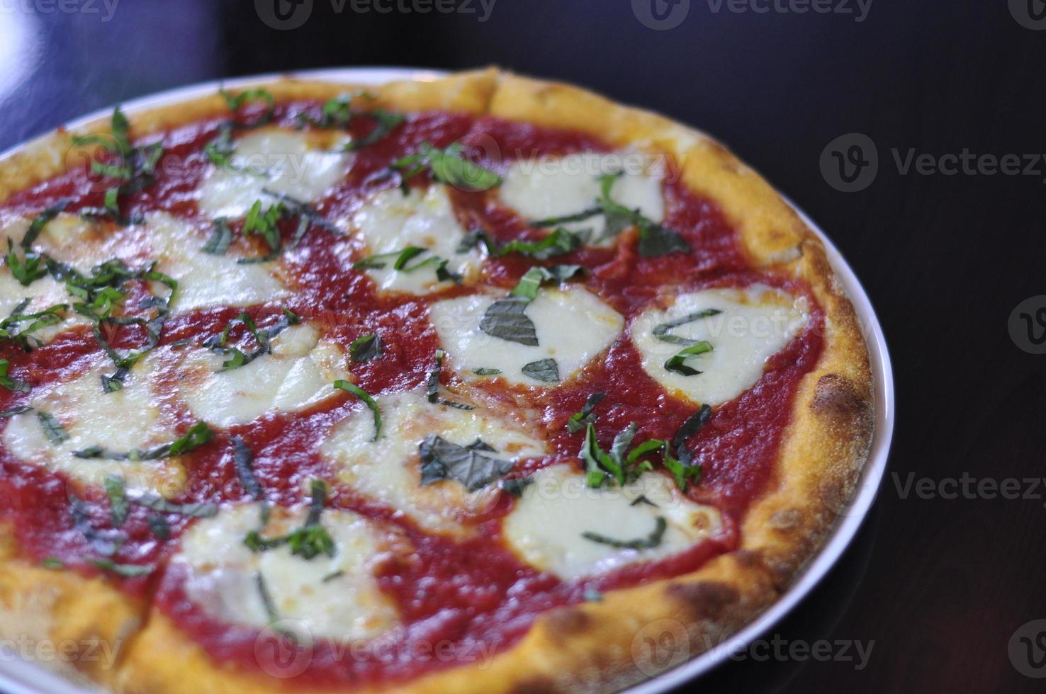 Pizza Margharita fresca foto