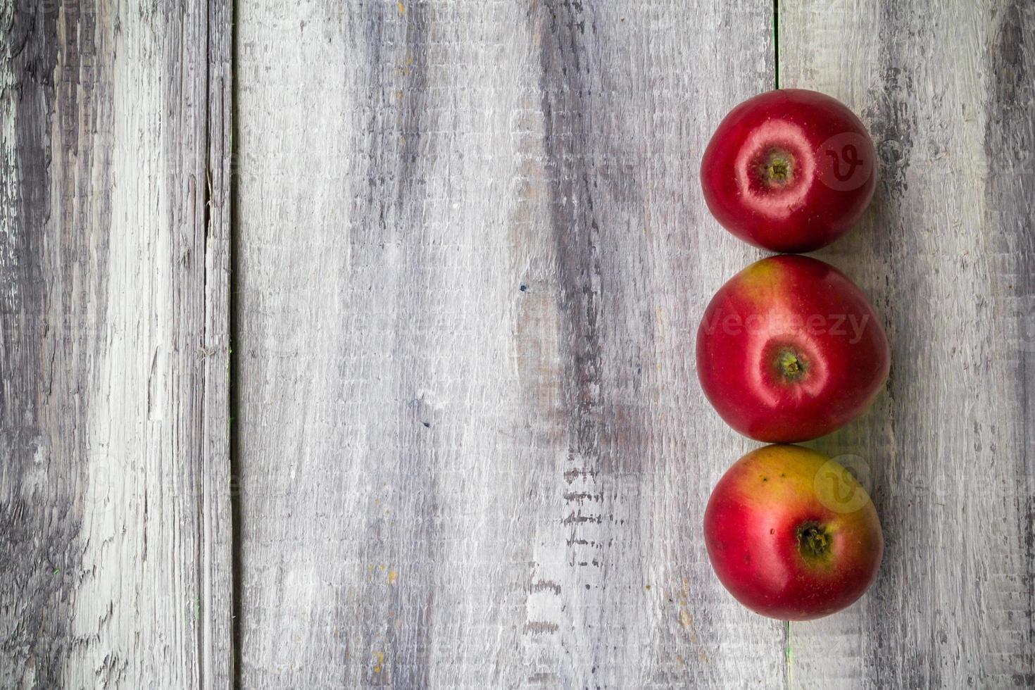 sfondo di frutta vintage in legno autunno cibo natura foto
