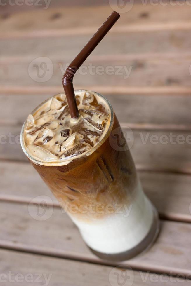 caffè freddo al latte foto