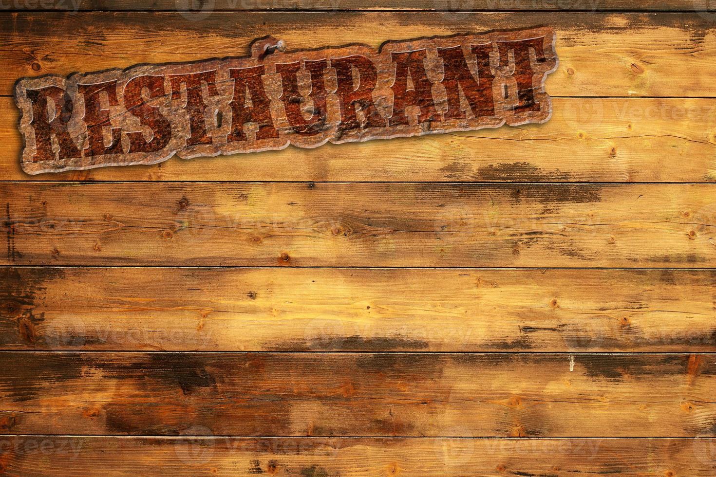 menu del ristorante foto