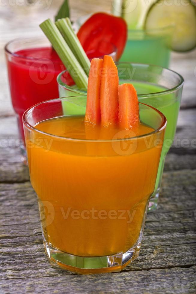 succhi di verdura foto