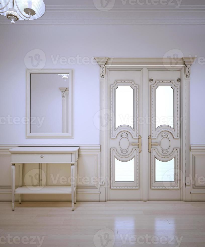 Provenza interno del corridoio foto