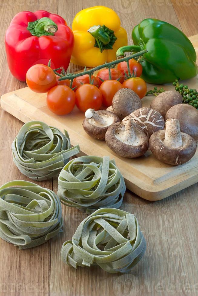 immagine di pasta che cucina ingrediente foto