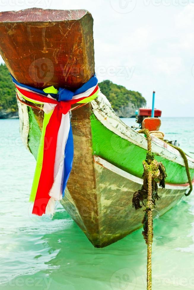 la testa della barca foto
