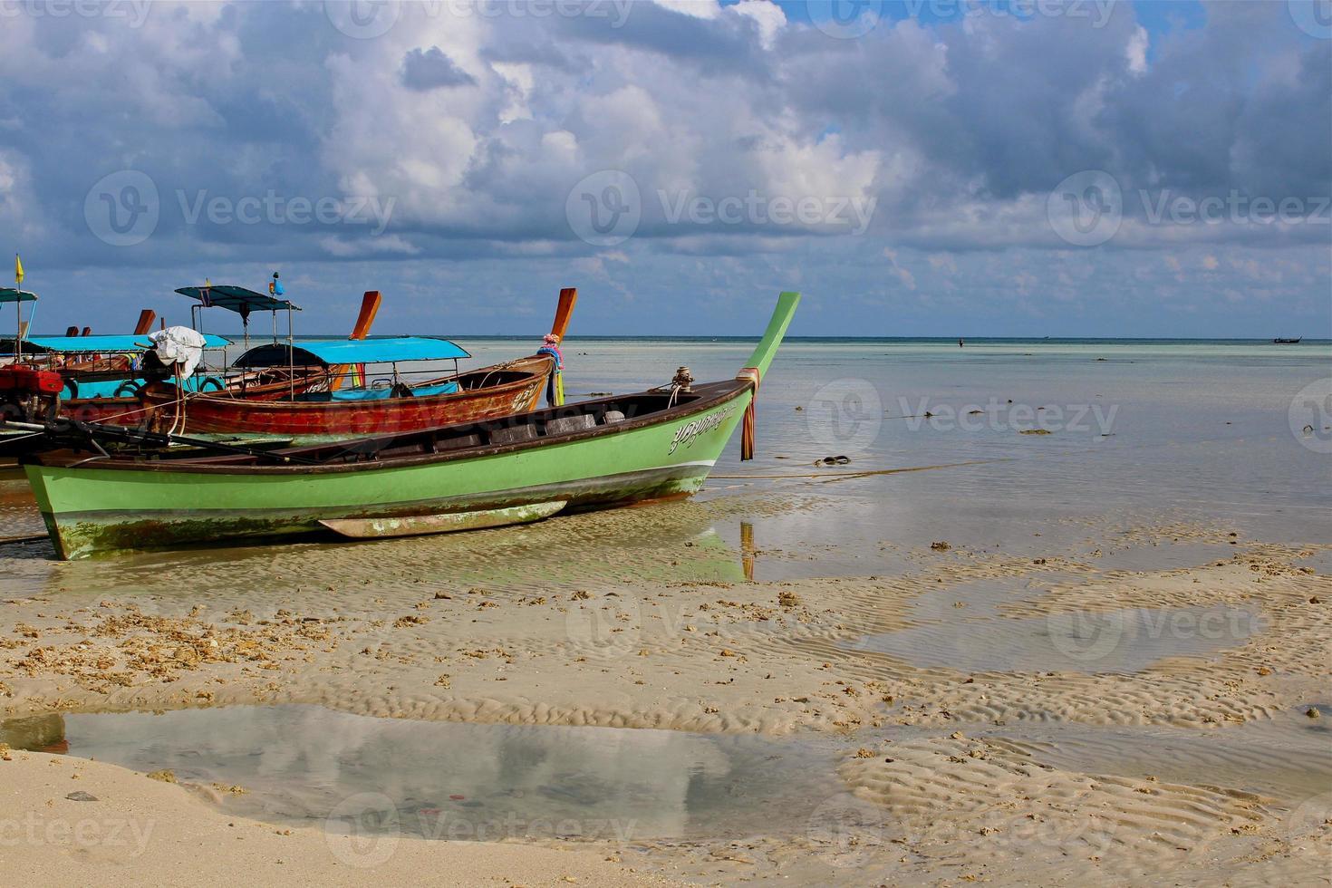 barca del longtail, Tailandia foto