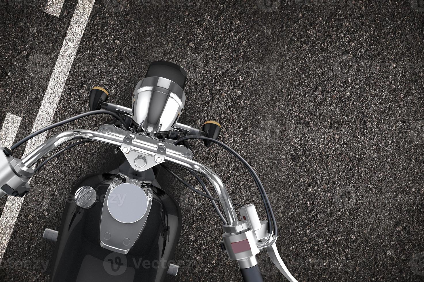 moto sulla strada foto