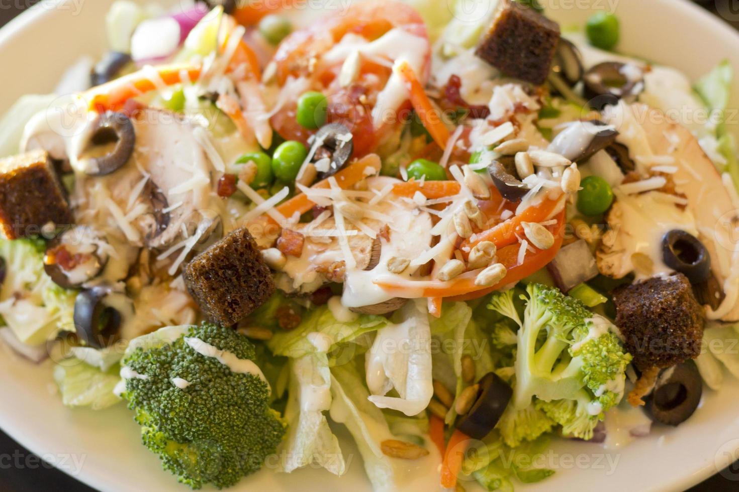 tutto insalata di verdure foto