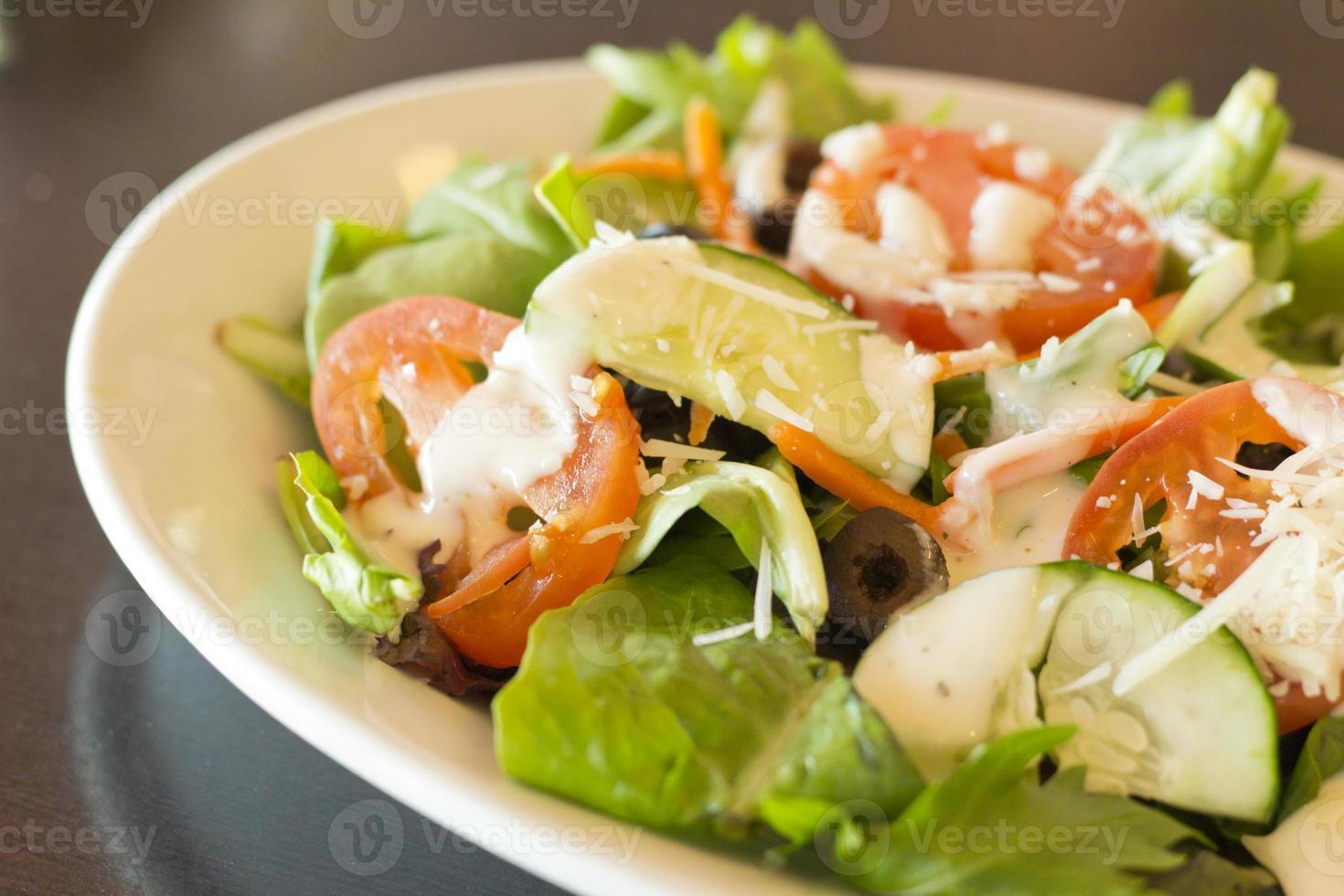 insalata greca biologica foto