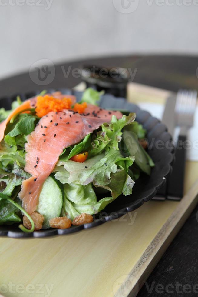 insalata di salmone foto