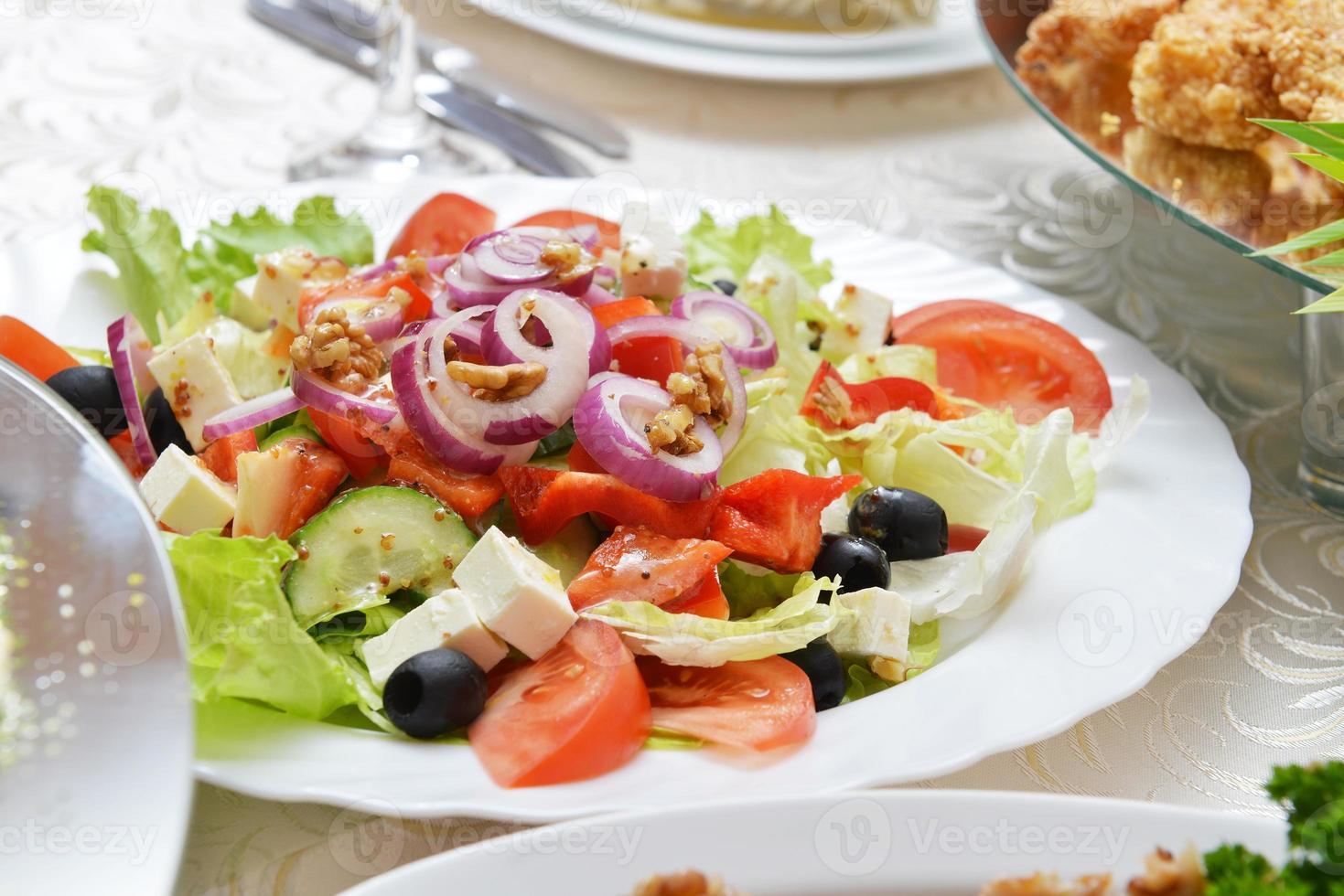 insalata con verdure fresche foto