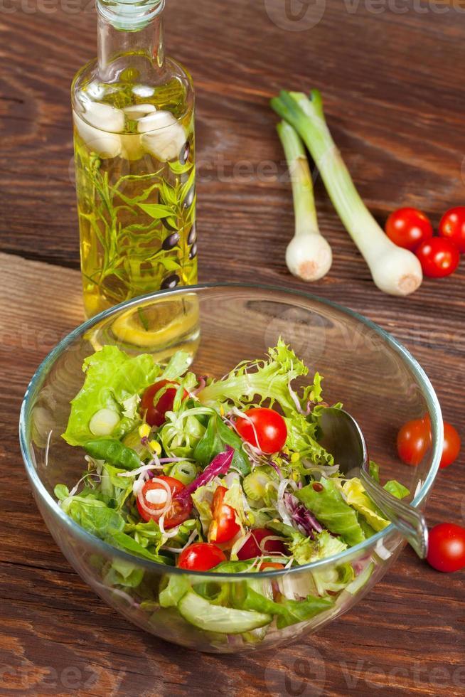 gustosa insalata. foto