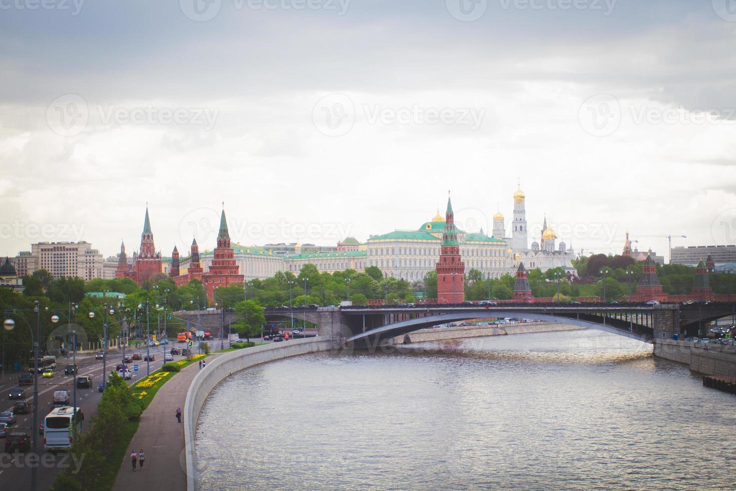 fiume di Mosca foto