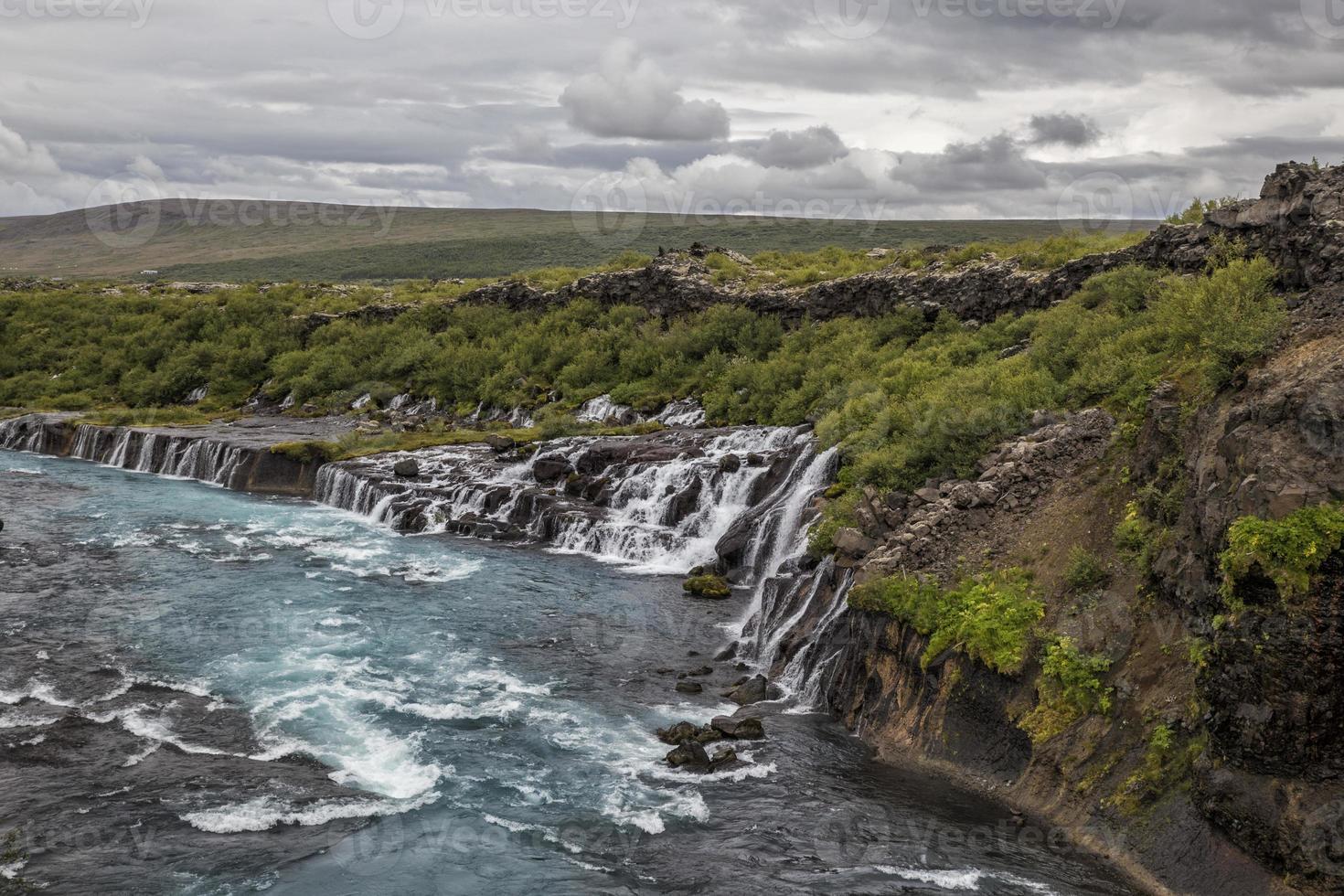 fiume e cascata foto