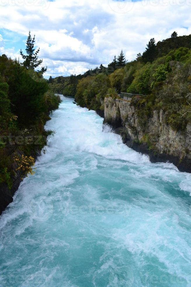 Huka Falls, Nuova Zelanda foto