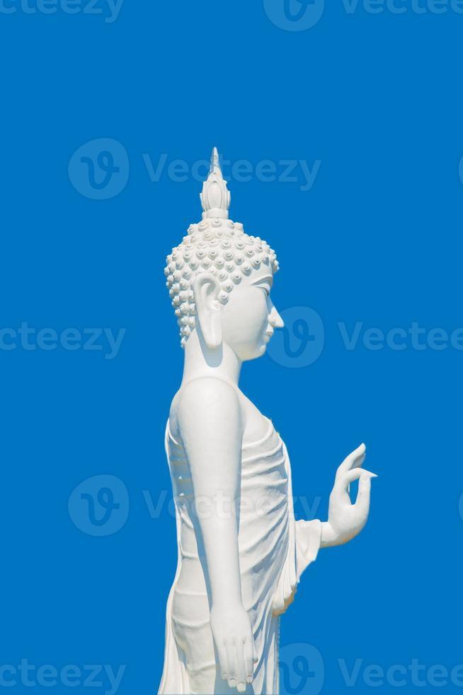 Buddha bianco foto