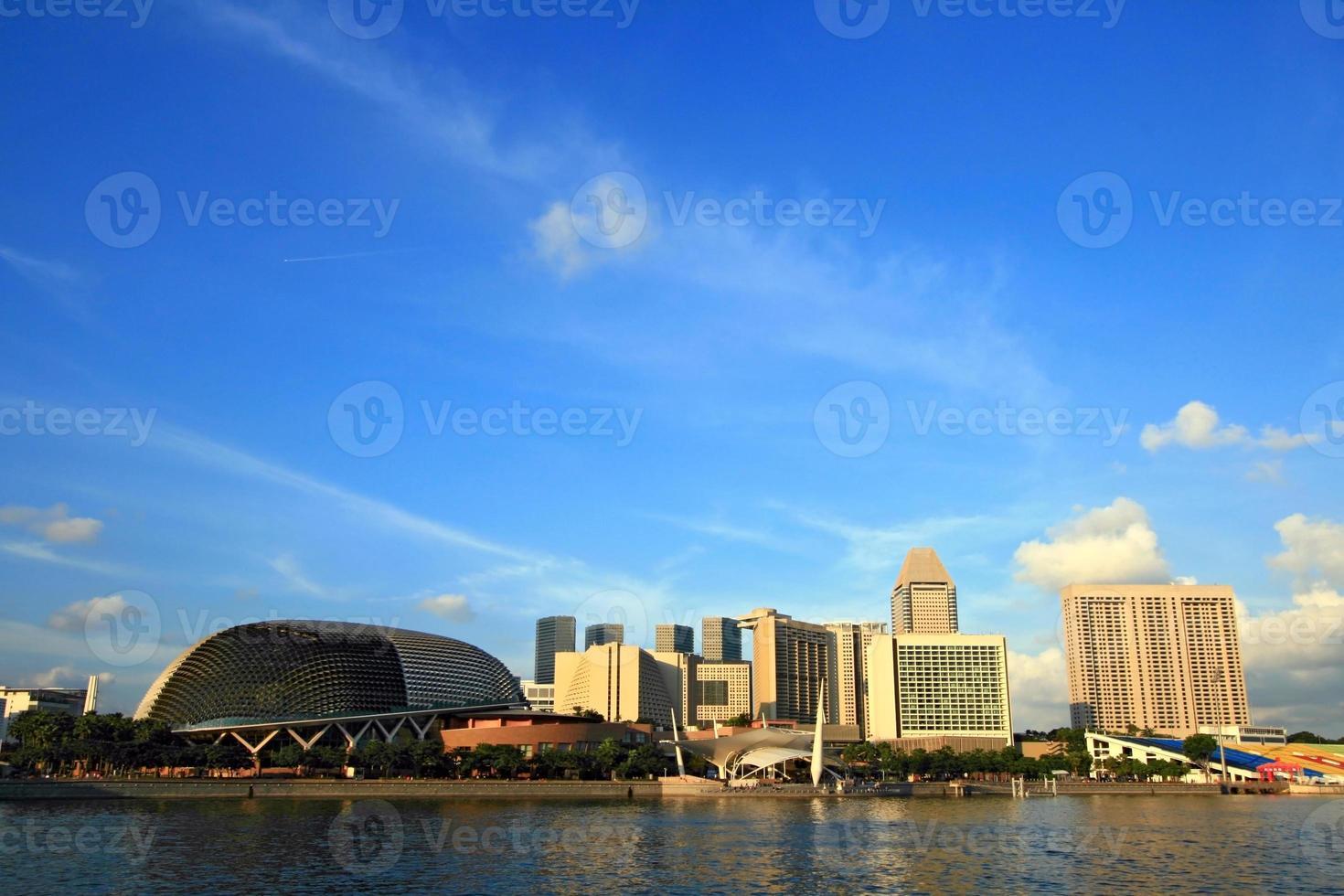 grattacieli di Singapore foto