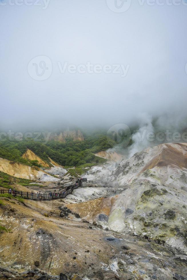 montagna dell'inferno jigokudani in noboribetsu japan16 foto