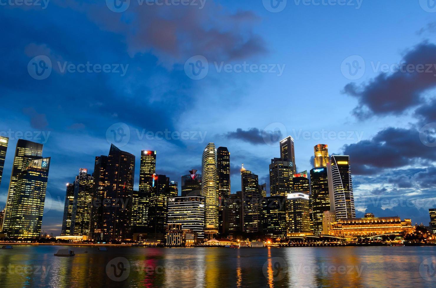 centro di Singapore foto