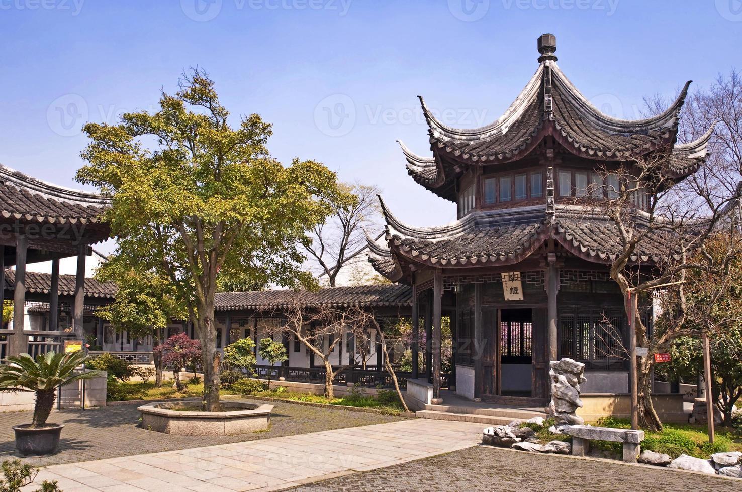villa della montagna di Hong Kong a mudu, Suzhou, porcellana foto