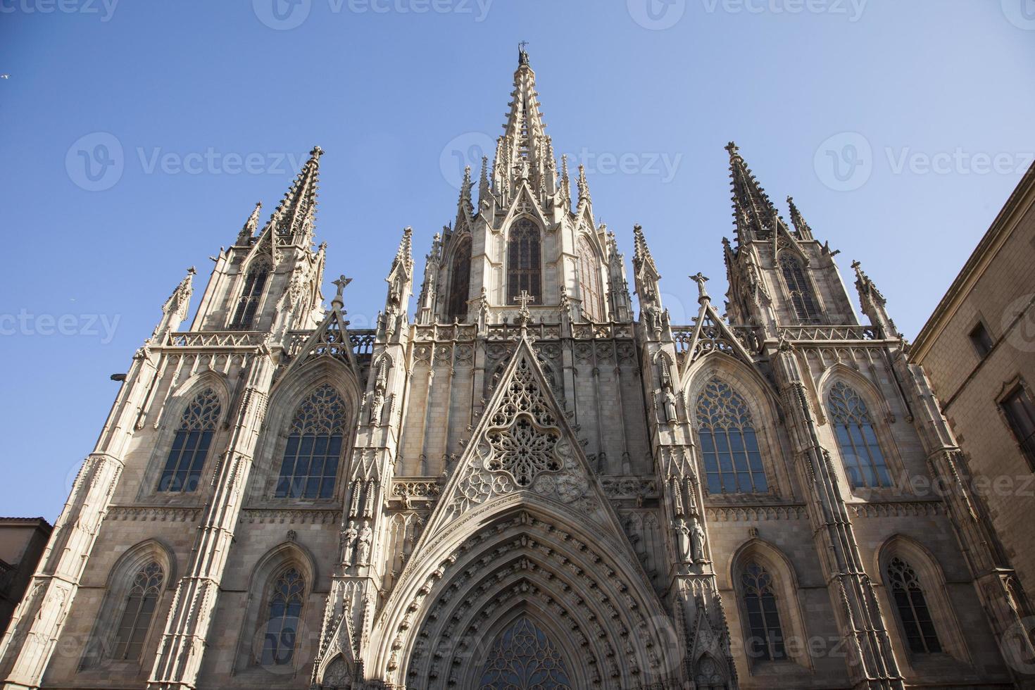 Cattedrale gotica di Barcellona foto