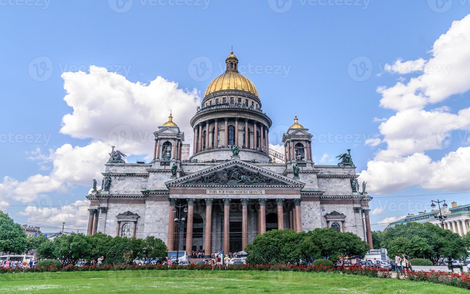 Cattedrale di San Isacco, San Pietroburgo, Russia foto