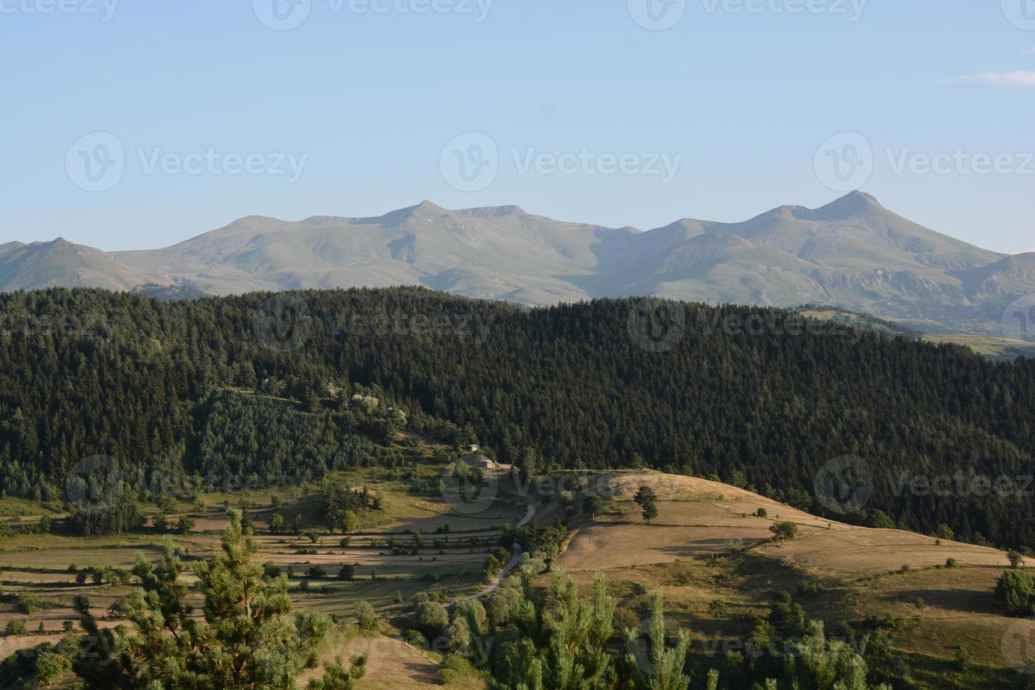 paesaggio montuoso artvin foto