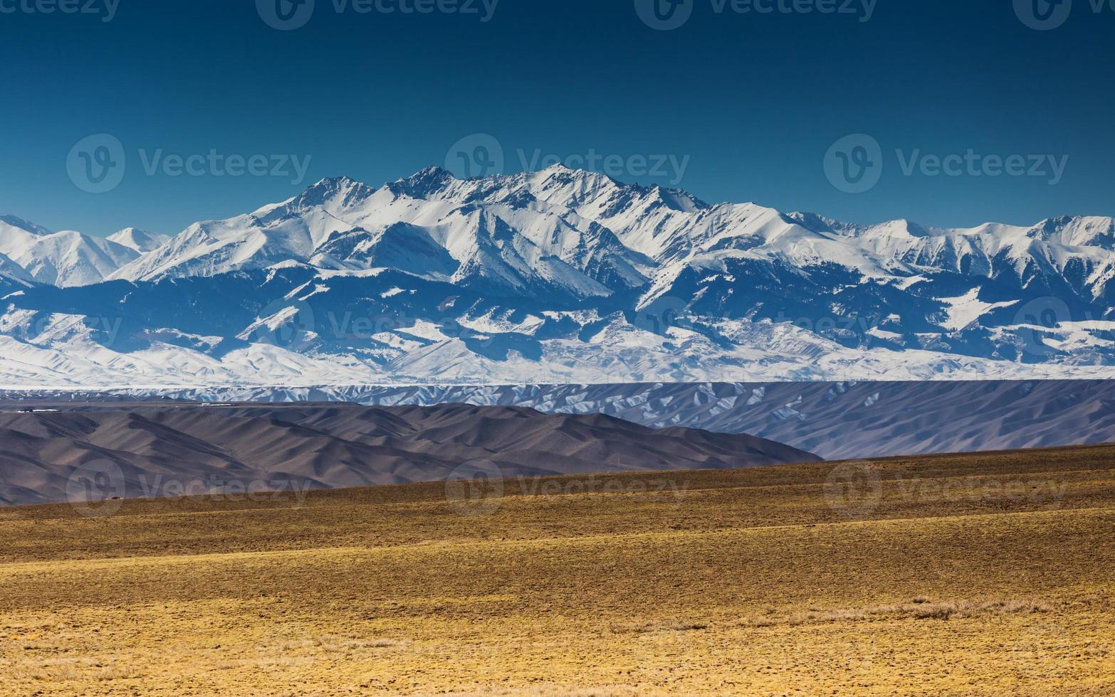 paesaggio vicino ad almaty, il Kazakistan foto