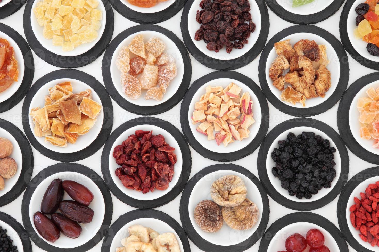 selezione di frutta secca foto