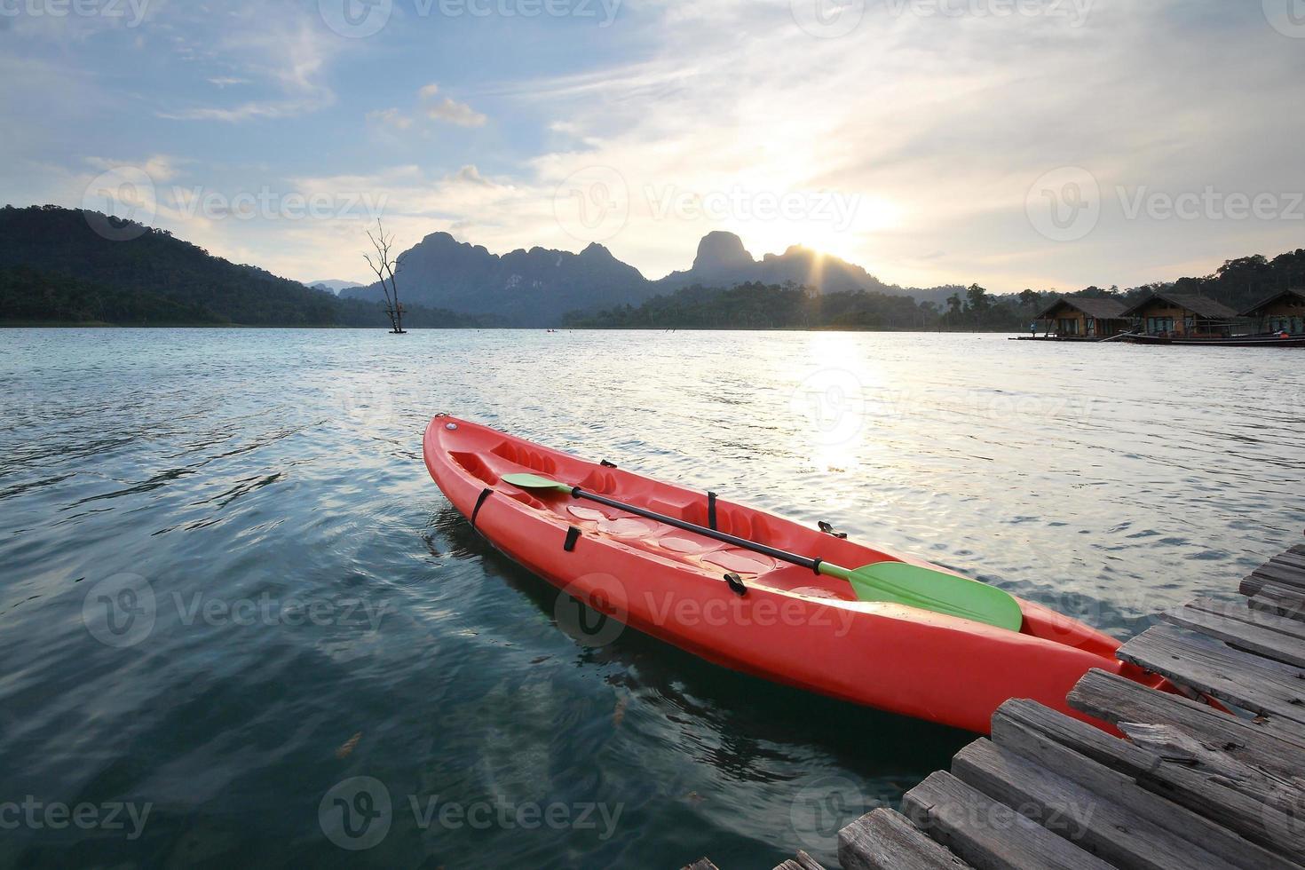 kayak rosso foto