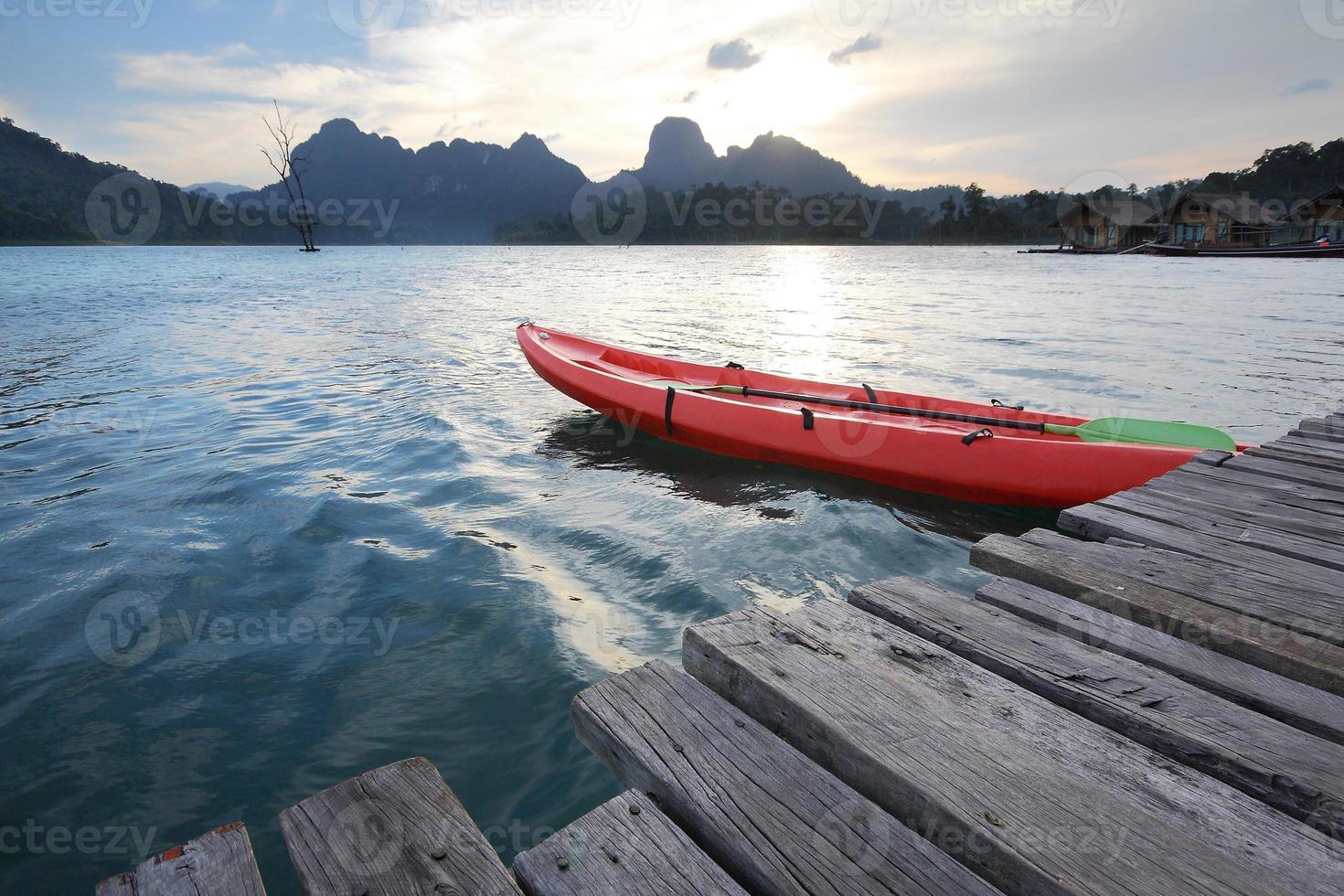 bacino per kayak foto