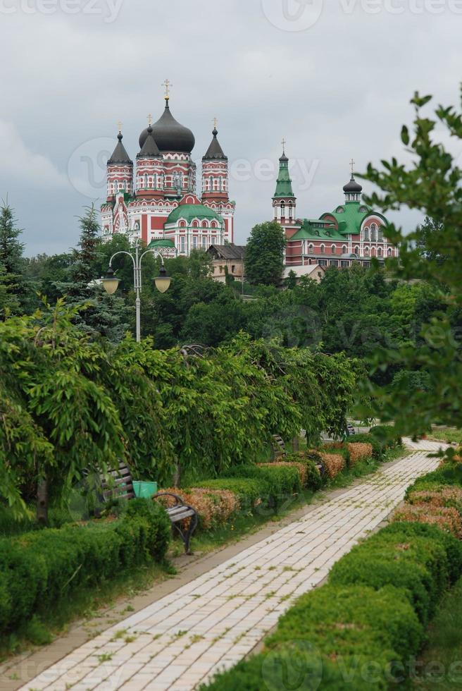 il monastero di Panteleymon a Kiev foto